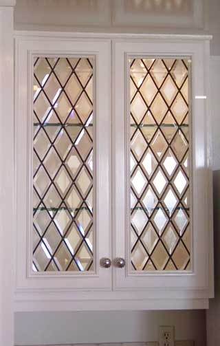 View Our Gallery of Cabinet Doors From Stained Glass Beverly Hills and Silva Glassworks